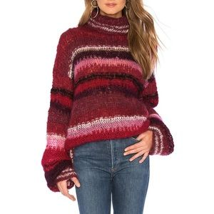 OneonOne hand x Free People Bright Mohair Sweater